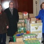 Caritas recoge 6.132 kilos de alimentos en Navidad.