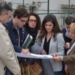 La ampliación del Medina Rivilla y el PROA, protagonistas en la visita de la delegada de Educación