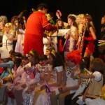 Los alumnos del conservatorio celebraron el tradicional concierto de carnaval