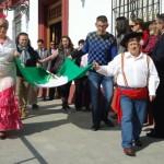 Todo preparado para el Día de Andalucía