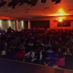 Lleno absoluto en la primera representación teatral de la iniciativa Eurokids en Bailén