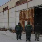La Guardia Civil detiene en Bailén a cinco hombres como supuestos autores del robo en una cerámica