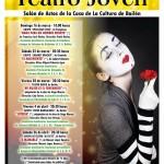 Luces, sombras y sueños imposibles en la primera función del Festival de Teatro Joven de Bailén