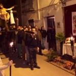 La Vera Cruz realiza su solemne Vía Crucis