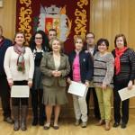 Entrega de diplomas a quince nuevos celadores sanitarios de Bailén
