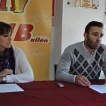 Los concejales de AIB comparecen ante los medios para analizar la situación de Bailén