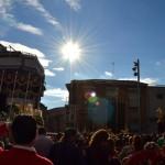 Miles de bailenenses, testigos del Saludo entre Nuestro Padre Jesús y la Virgen de los Dolores