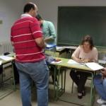 Pequeñas colas en el cierre de los colegios electorales