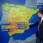 Bailén registró la temperatura máxima de España