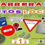La primera Carrera de Autos locos llega a la Feria del Barrio este sábado