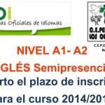 El CEPER Los Olivos abre el plazo para los cursos de inglés A1 y A2