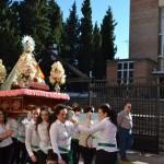 La Virgen de Zocueca regresa a la Iglesia de la Encarnación