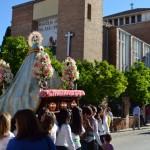 Nuestra Señora de Zocueca llega a la parroquia de San José Obrero