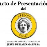 Presentación del Ateneo Jesús de Haro Malpesa