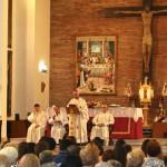 El obispo de Jaén clausura el cincuentenario de San José Obrero