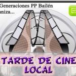 NNGG organiza una tarde de cine local