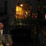 Miles de bailenenses arropan a la Virgen de Zocueca por las calles de la ciudad