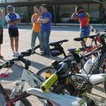Nuevos aparcamientos para bicis en Bailén