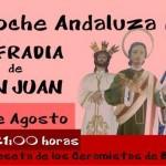 Hoy Noche Andaluza a cargo de la cofradía de San Juan