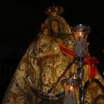 La procesión de la patrona pone fin a la Feria de agosto
