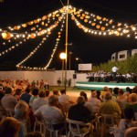 Noche de pasodobles para comenzar la Feria de agosto