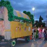 Treinta y dos carreras participan en el desfile de la romería de Zocueca