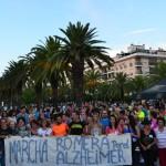 Casi 800 bailenenses se suman a la Marcha por el Alzheimer
