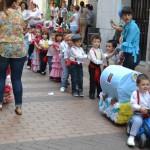 Los pequeños alumnos del Sagrado Corazón protagonizan su mini-romería