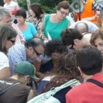 IU y Equo presentan ochocientas firmas al ayuntamiento