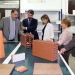 El secretario general de la consejería de innovación visita Innovarcilla