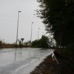 Las fuertes lluvias causan incidencias leves en Bailén