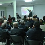 La Guardia Civil informa en Bailén sobre la campaña de aceituna