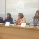 Alumnos bailenenses participan en una campaña para prevenir la violencia de género