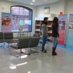 Los ocho objetivos del milenio en la Biblioteca Municipal
