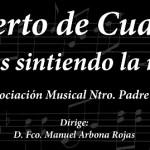 La banda del nazareno celebra esta noche su quince aniversario con un concierto
