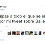 Mikel Alonso pide disculpas tras la polémica