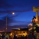 La cofradía de San Juan Evangelista cierra el Domingo de Ramos en Bailén