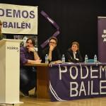 La campaña electoral andaluza de Podemos hace parada en Bailén