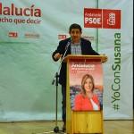El PSOE pide la participación para conseguir la victoria por mayoría con un mitin en Bailén