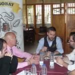 La Asociación de Hostelería de Bailén estrecha lazos con ASOSTEL