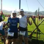 Jose Javier Olea y Juan Galey destacan en sus pruebas atléticas