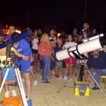 Alumnos de infantil del Pedro Corchado conocen de cerca los planetas
