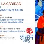 La Encarnación celebra desde mañana las Jornadas de la Caridad