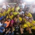 Construcciones Esteban Ortiz Perea se alza con el campeonato de fútbol 7