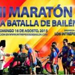 Los Intrépidos celebran mañana el II Maratón Batalla de Bailén