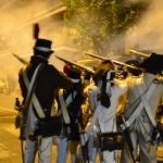 La calle Andújar revive las escaramuzas de la contienda 207 años después