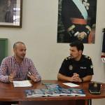 Julián Machado, policía local, publica un libro sobre las detenciones