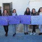 Los alumnos del IES Hermanos Medina Rivilla dan la cara por ellas