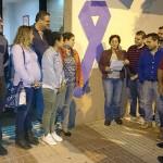 El PSOE local se suma a las movilizaciones contra la violencia machista