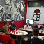 Éxito en el café-coloquio para presentar el proyecto del PSOE
